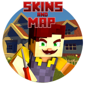 Skins and Map Neighbor for MCPE 1.0
