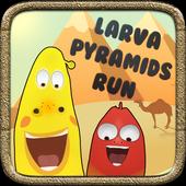 Larva Pyramids Run 1.0