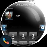Dusk BlackBlue Phone Theme 1.0