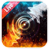 Live Wallpaper Background Ice and Fire 2.2.0.2260