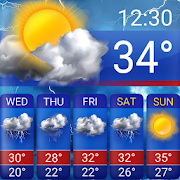 Free Weather Forecast App Widget 16.1.0.47680_47680