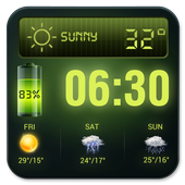 Weather Forecast Widget with Battery and Clock 15.6.0.45653
