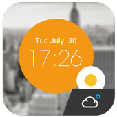 Weather Clock Cool Widget 15.1.0.45940