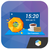 Dessert Style Weather Widget 15.1.0.45182