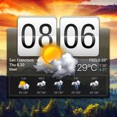 Flip Clock & Weather Widget 16.6.0.50022