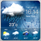 Daily weather forecast widget☂ 9.9.7.1974