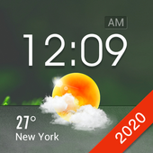 Home screen clock and weather,world weather radar 15.1.0.45940