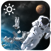 3D Outer-space Weather Widget 14.0.0.4370