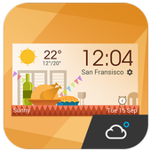 daily weather report clock 12.7.0.3700
