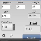 Foam Calculator 1.0.0
