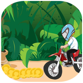 jungle castle run Motorbike 1.0