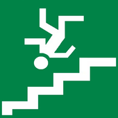 STAIRS FALL 3D 46