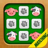 Matching Game Farm Animals