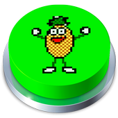 Pineapple Jelly Time  Button 2017 1.1