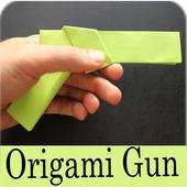 Paper Origami Folding Gun Making Steps Videos 1.1