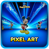 No Draw Disney Pixel Art : Color by Number 1.0