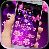 Neon butterfly dazzle purple 1.1.2