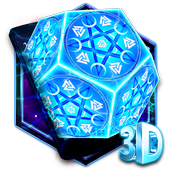 3D Neon Tech Pentagon Theme 1.1.5