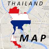 Thailand Phitsanulok Map 0.0.7