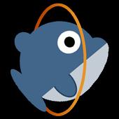 net.denshikousaku.FlyingDolphin icon