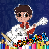 Kids Paint COCO Coloring Book 1.0