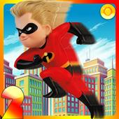 Incredibles 2 - Dash Running 1