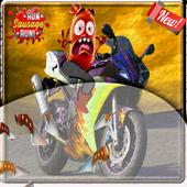 Run sausage moto racer 1