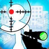 Stickman sniper : Tap to kill