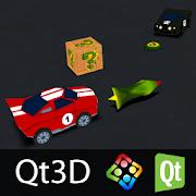 Qt 3D Car Challenge (Qt3D)V-Play EngineAction
