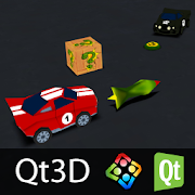 Qt 3D Car Challenge (Qt3D)