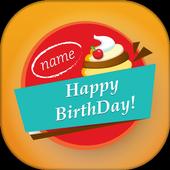 Name on Birthday Cake 1.0