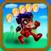 Super Ladybug Run - Adventure world