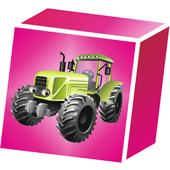 3D Block Cubes: Tractor SeriesAncoraPlusPuzzle