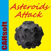 Asteroids AttackCAHSoftArcade
