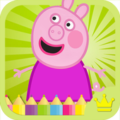 Peppy Pig Coloring for Kids 1.01