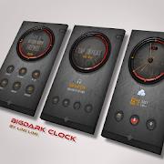 BigDark Clock for kustom KLWP 1.0