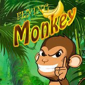 Flying MonkeyDesign Wall ArtAdventure