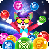 Bubble Shooter 2019 Challenge: New Tomcat Rescue 1.0