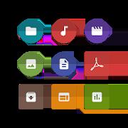 Unfolded Icons Solid ExplorerNeatBytesPersonalization 1.0