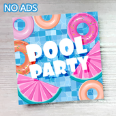 Pool Party Invitation Maker 1.1