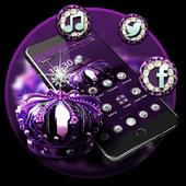 Purple Elegant Crown Theme