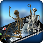 Skeleton Dance On Screen Prank 1.0.7