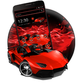 Red Speed Car Theme 1.1.8