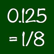 Decimal to Fraction Converter Calculator - Ad Free 2.18