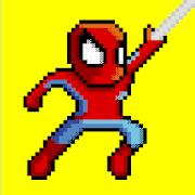 Hero Ultimate Spider Retro Fight Rope Adventure 2