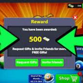 Daily Unlimited Coins Reward Links 8 Ball Pool
