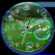 Bubble Clock Live Wallpaper 1.0