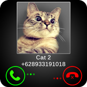 Fake Call Cat Joke 1.7