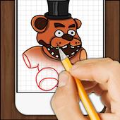 How to Draw Freddy 1.2