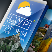 Weather Live Wallpaper. Current forecast on screen 1.5.1